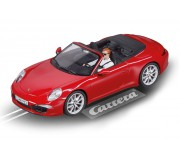 Carrera Evolution 27534 Porsche 911 Carrera S Cabriolet (rouge)