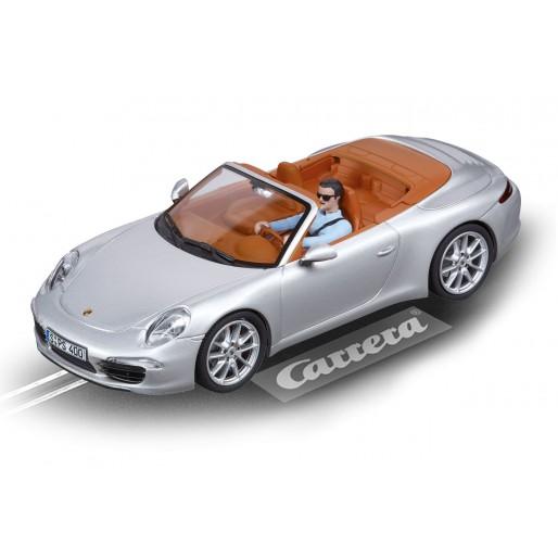 Carrera DIGITAL 132 30773 Porsche 911 Carrera S Cabriolet (argent)