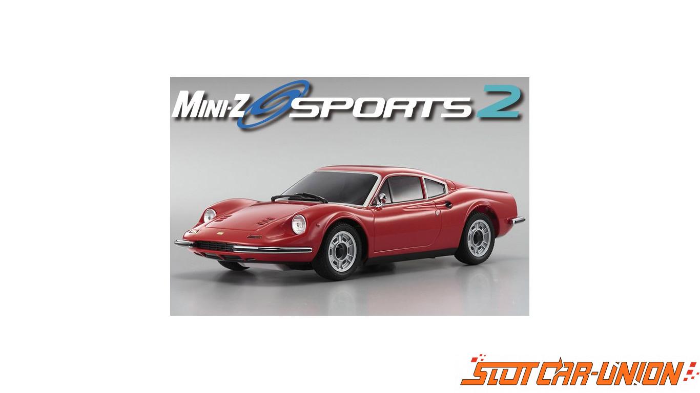 Kyosho Mini Z Mr03 Sports 2 Ferrari Dino 246 Gt Red N Rml