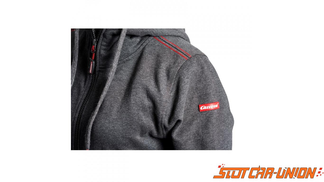 50ae46c90 Carrera Fashion Sweat à capuche pour Homme gris foncé - Slot Car-Union