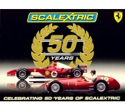 Scalextric C2782A Scalextric 50th Anniversary Pack Special Ferrari Limited Edition