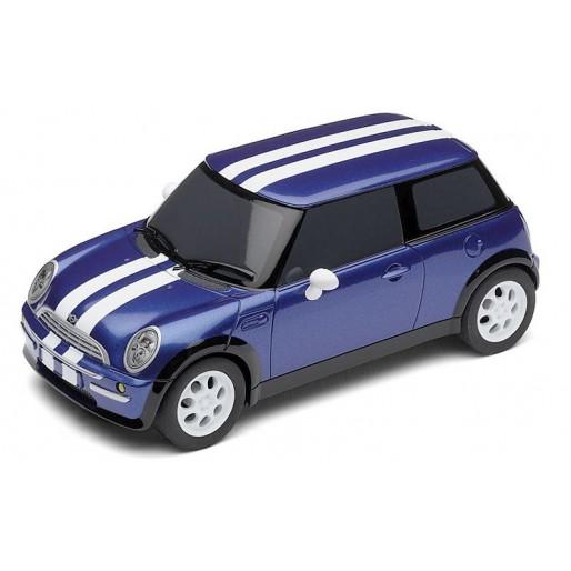 scalextric c2805 mini cooper bleu slot car union. Black Bedroom Furniture Sets. Home Design Ideas