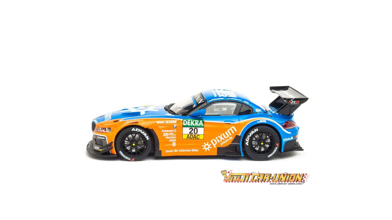 carrera digital 132 30744 bmw z4 gt3 schubert motorsport blancpain 2014 slot car union. Black Bedroom Furniture Sets. Home Design Ideas