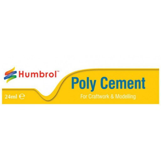 Humbrol AE4422 Poly Cement - 24ml Tube