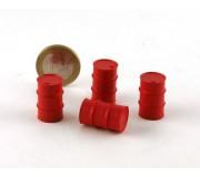 LE MANS miniatures Bidon 200l métal rouge