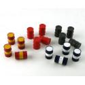 LE MANS miniatures Metal drum 200l black