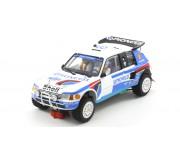 Scaleauto SC-6106 Peugeot 205 T16 Grand Raid Paris Dakar 1989 n.205 & n.207