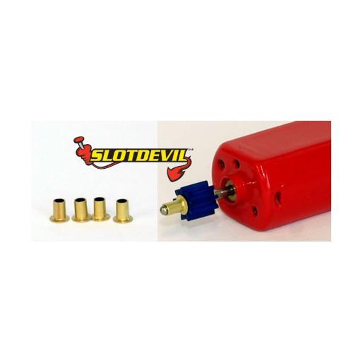 Slotdevil 201362003 Shaft Adapter 1,5 to 2 mm Length 3 mm x4