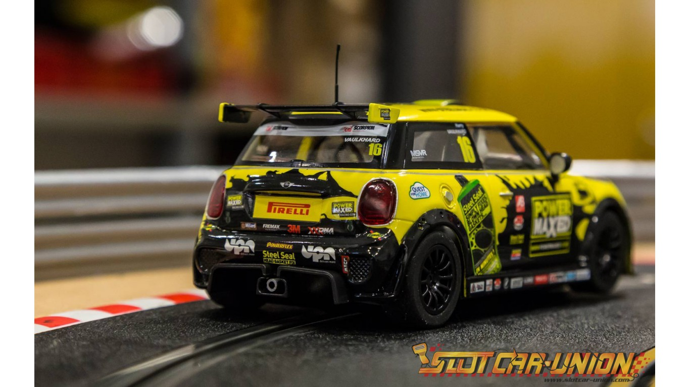 scalextric c3742 bmw mini cooper f56 mini challenge 2015 slot car union. Black Bedroom Furniture Sets. Home Design Ideas