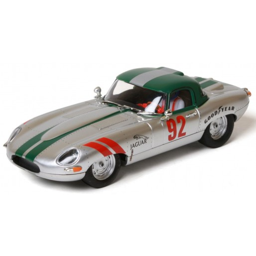 Ninco 50611 Jaguar E-Type Roadster Silver 62