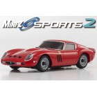 Kyosho Mini-Z MR03 Sports 2 Ferrari 250 GTO Rouge (N-RML/KT19)