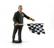 LE MANS miniatures Figurine 1/18 Directeur de course