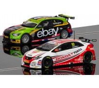 Scalextric C3694A  BTCC Champions Twin Pack - BMW 125 Series 1 & Honda Civic
