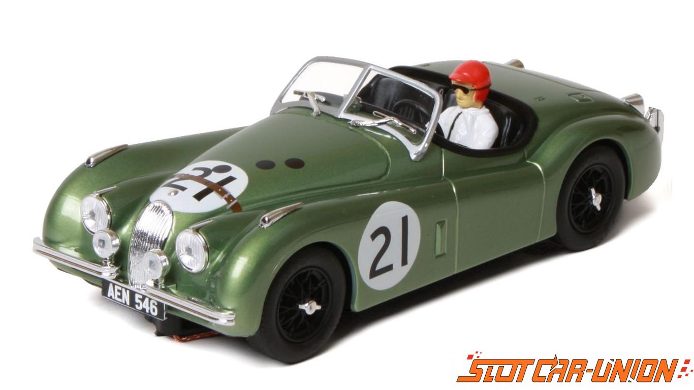 Kinderrennbahnen Slot Scx Scalextric Ninco 50695 Jaguar Xk120 Le Mans 1951 Elektrisches Spielzeug