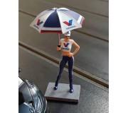Sideways SWFIG/013 Figurine Milla Valvoline + Ombrelle
