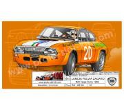 Proto Slot-Kit CB102 LANCIA FULVIA ZAGATO n.20 Targa Florio 1969