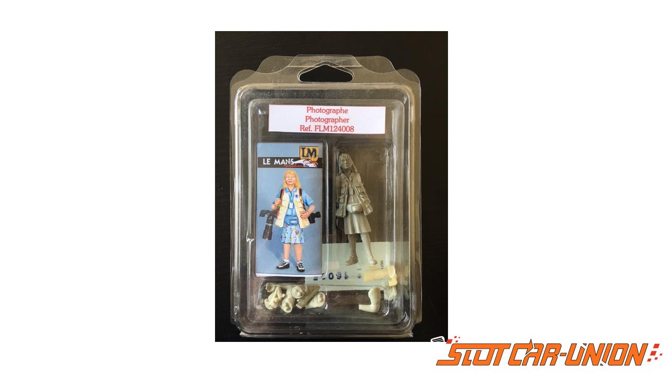 le mans miniatures figurine photographe slot car union. Black Bedroom Furniture Sets. Home Design Ideas