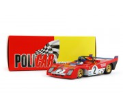 Policar CAR01b Ferrari 312 PB n.2 Ronnie Peterson, Tim Schenken 3rd 1000 Km Monza 1972