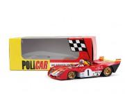 Policar CAR01c Ferrari 312 PB n.1 Jacky Ickx, Clay Regazzoni Winner - 1000 Km Monza 1972