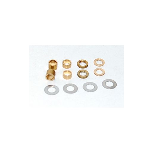 BRM S-011 Full set of spacers for 3mm axle 0.1 - 0.25 - 0.5 - 1 - 2 - 3 (2 x each size)
