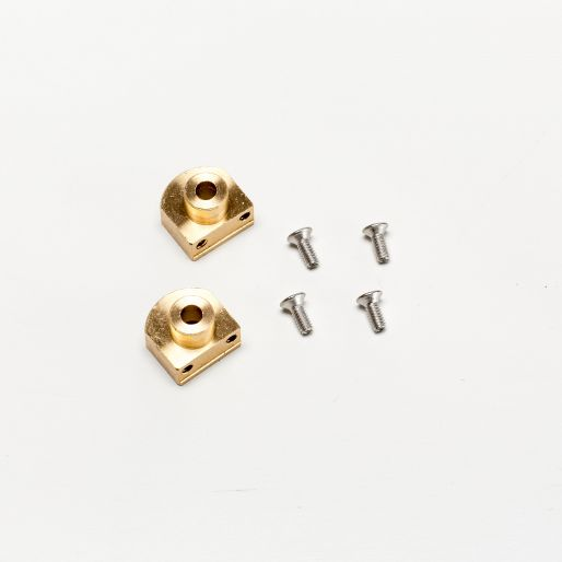"BRM S-412 NSU TT/Simca1000 TTS - Rear brass axle holders (""Camber"") x2"
