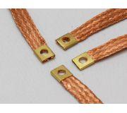 BRM S-025 Tresses de contact pour pistes en bois (mince) x4