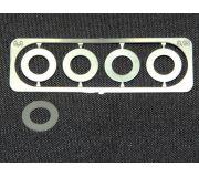 BRM S-026SB Cales de guide 0.3mm x4