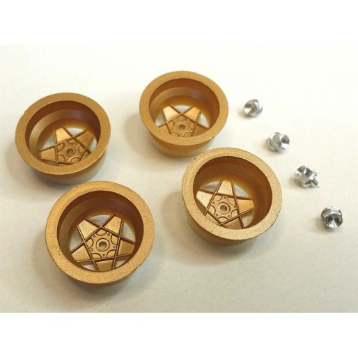 512 GOLD inserts with aluminum nuts