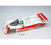 BRM S-001BW Full body Porsche 962 IMSA Budweiser no.86, painted and assembled