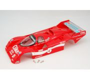BRM S-001CK Full body Porsche 962 IMSA Coke no.5, painted and assembled