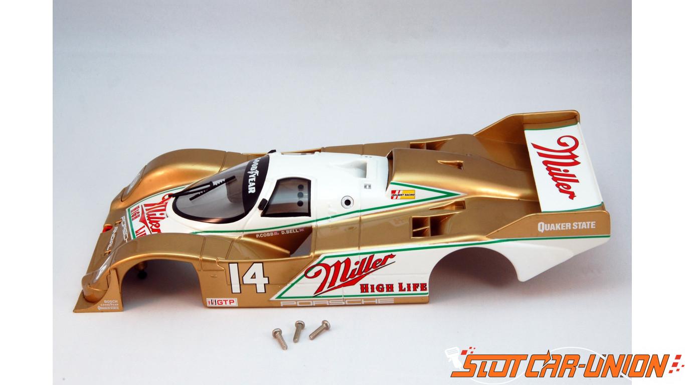 Brm S 001ml Carrosserie Complète Porsche 962 Imsa Miller No14