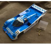 BRM S-001OM Full body Porsche 962KH Omron Racing, painted and assembled