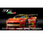 Black Arrow BACM02B Ferrari GT3 Italia Momo Red 2015