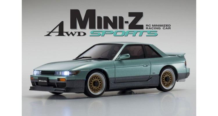 Kyosho Mini-Z MA020 Sports 4WD NISSAN SILVIA AERO (KT19