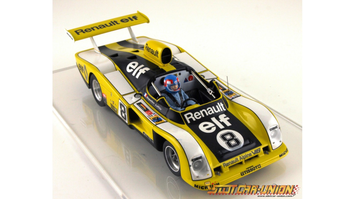 le mans miniatures renault alpine a442 n 8 slot car union. Black Bedroom Furniture Sets. Home Design Ideas