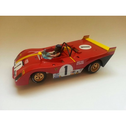 SRC 03202 Ferrari 312 PB Coda Lunga 1º 1000km Monza 1972 Jacky Icks - Clay Regazzoni