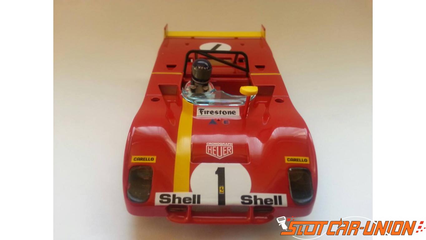 8 pneus urethane Sloter Ferrari 312 PB