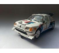 SRC 53702 Peugeot 205 T16 Evo2 Rally Montecarlo 1986 Timo Salonen - S. Harjanne Chrono