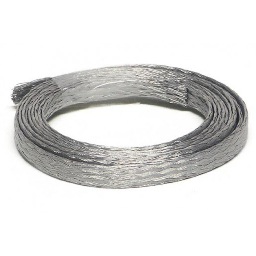Slot.it SP18 Tin Plated Copper Braids 1m