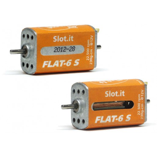 Slot.it MN13ch Flat-6 S - 22 500 RPM 230g*cm @12V