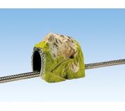 NOCH 02120 Tunnel Droit 1 Voie, 25 x 19 cm