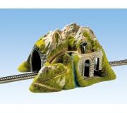 NOCH 02220 Tunnel, Droit, 1 voie, 34 x 26 cm