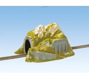 NOCH 02221 Tunnel Droit, 1 Voie, 34 x 25 cm