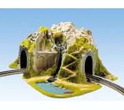 NOCH 05170 Tunnel d'angle, 1 voie, 41 x 37 cm