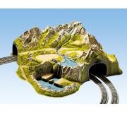 NOCH 05200 Tunnel De Coin, 2 voies, 73 x 70 cm