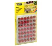 "NOCH 07025 Touffes d'herbes XL ""fleuries"", rouges"