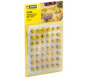"NOCH 07026 Grass Tufts XL ""blooming"", yellow flock"