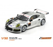 Scaleauto SC-6067b Porsche 991 Cup Racing Kit - Silver
