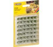 """NOCH 07028 Touffes d'herbes XL """"fleuries"""", blanc"""