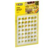 """NOCH 07036 Touffes d'herbes """"fleuries"""", jaunes"""